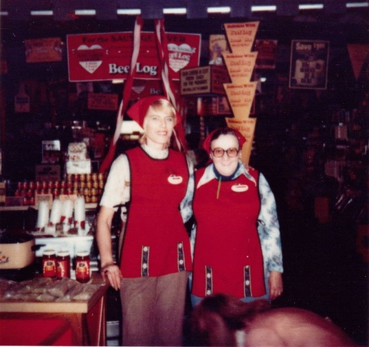 The Swiss Colony Store Employees in Uniform 1980's